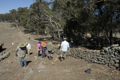 Dry Stone Walling Workshop, South Australia