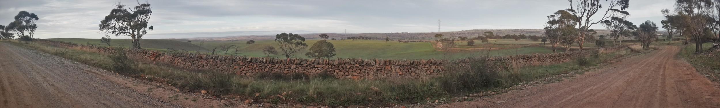 Historic Dry Stone Walls, Pine Hut Rd, Keyneton - Eden Valley - Sedan, South Australia