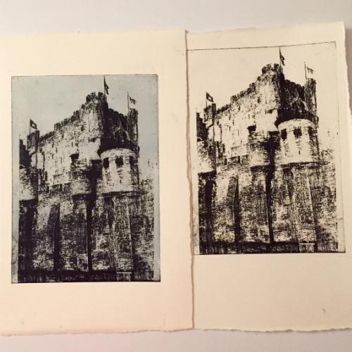Castle prints.