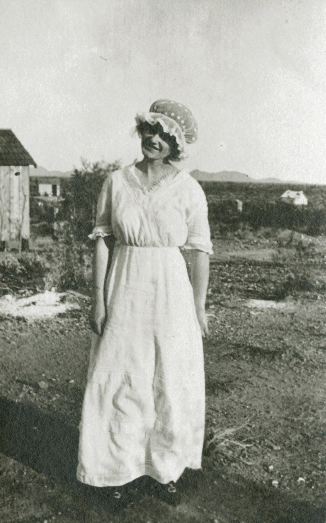 Miss Hamill, Vulture Mine School Teacher, 1913