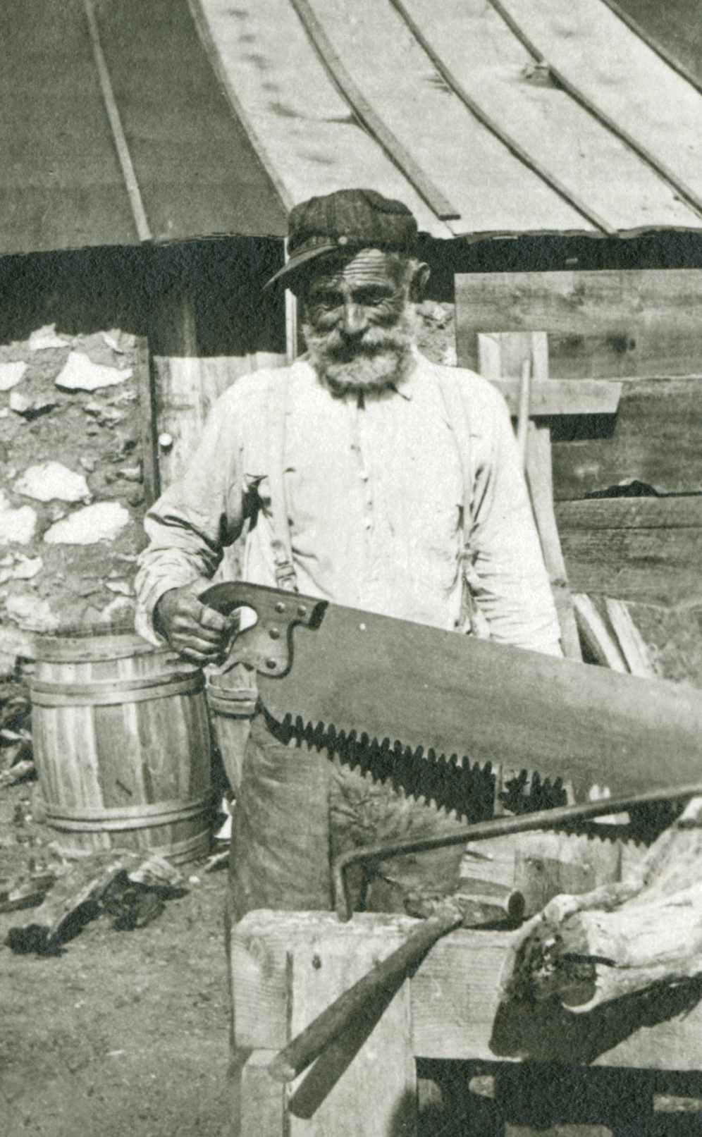 "Peter Dabovitch, ""Mister Peter"", Vulture Mine Caretaker, 1913"