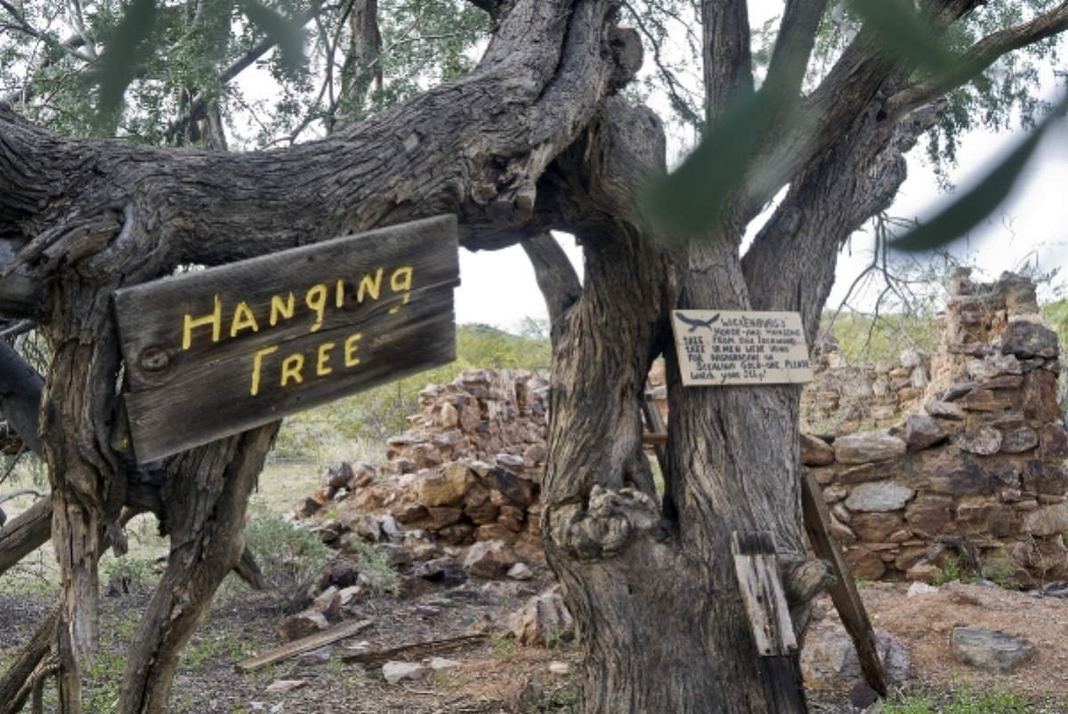 Hanging Tree and Henry Wickenburg Cabin 2016