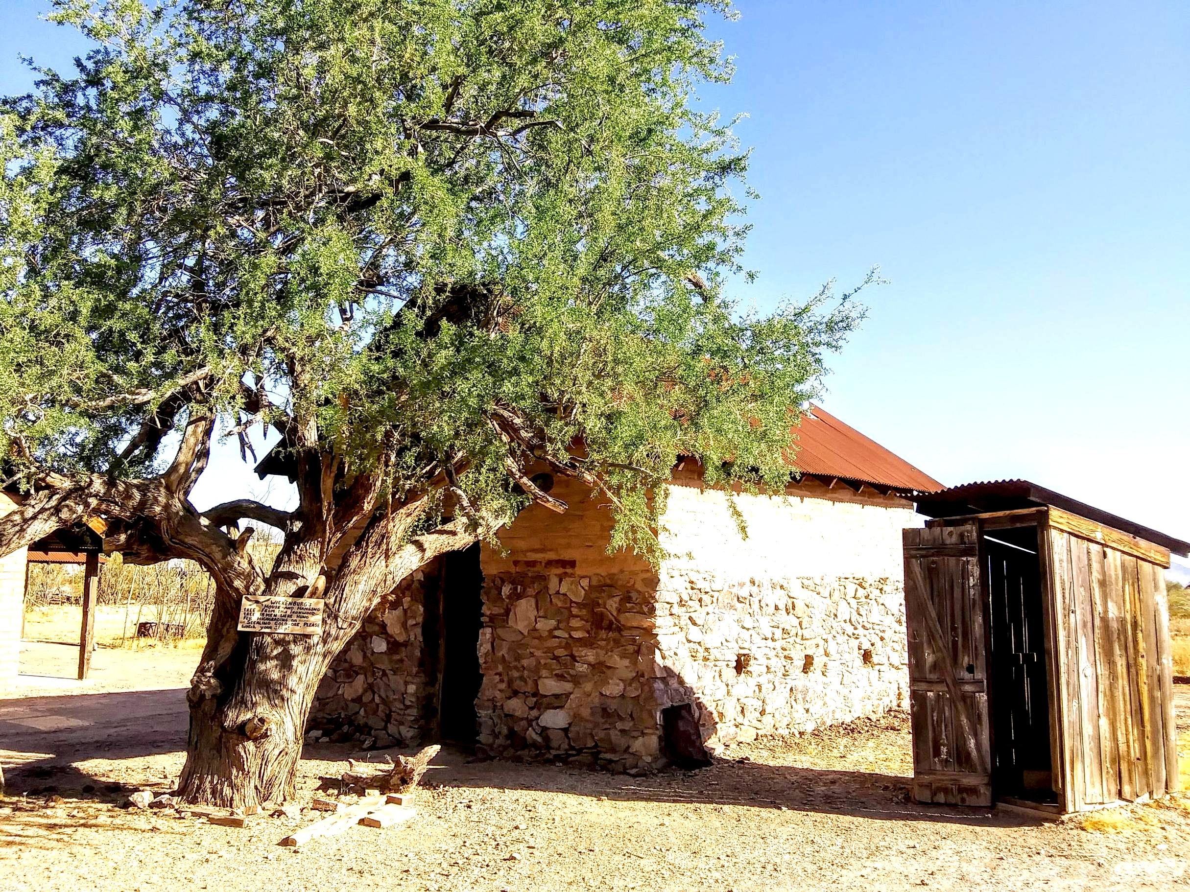 Hanging Tree and Henry Wickenburg's Cabin 2019