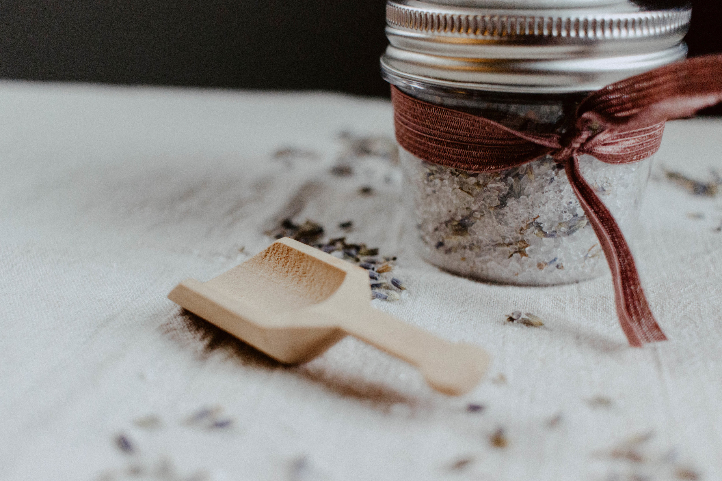 DIY EO Bath Salts