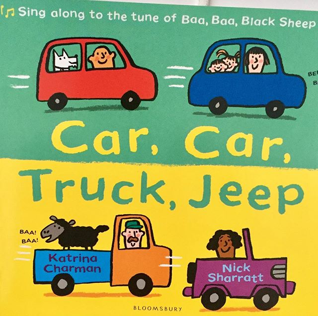 Every baby with be gifted a free book #carcartruckjeep tomo 10.30am #babybookgroup @booktrust  Join us for songs, sensory play and singalong story #readingchampion