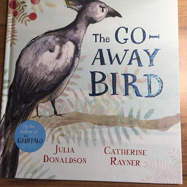 "The Go-Away bird comes from Africa and it's call really does sound like ""Go away!"" Had so much fun sharing this and the illustrations are truly beautiful.  @macmillankidsuk #juliadonaldson @catherine.rayner #thegoawaybird  #readinchampion #picturebooks #kidlit #booksthatinspire"
