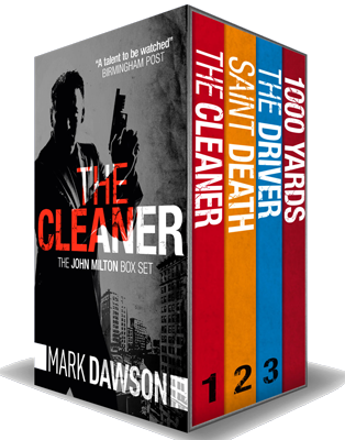 mark dawson author of john milton series