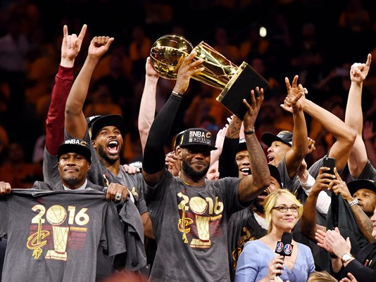 #believeland! Congrats to LeBron and the Cavs on winning the NBA Championship!