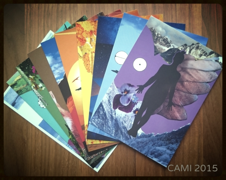 CAMI - set of 10 cards - Carina Bengel & Yoga Lab