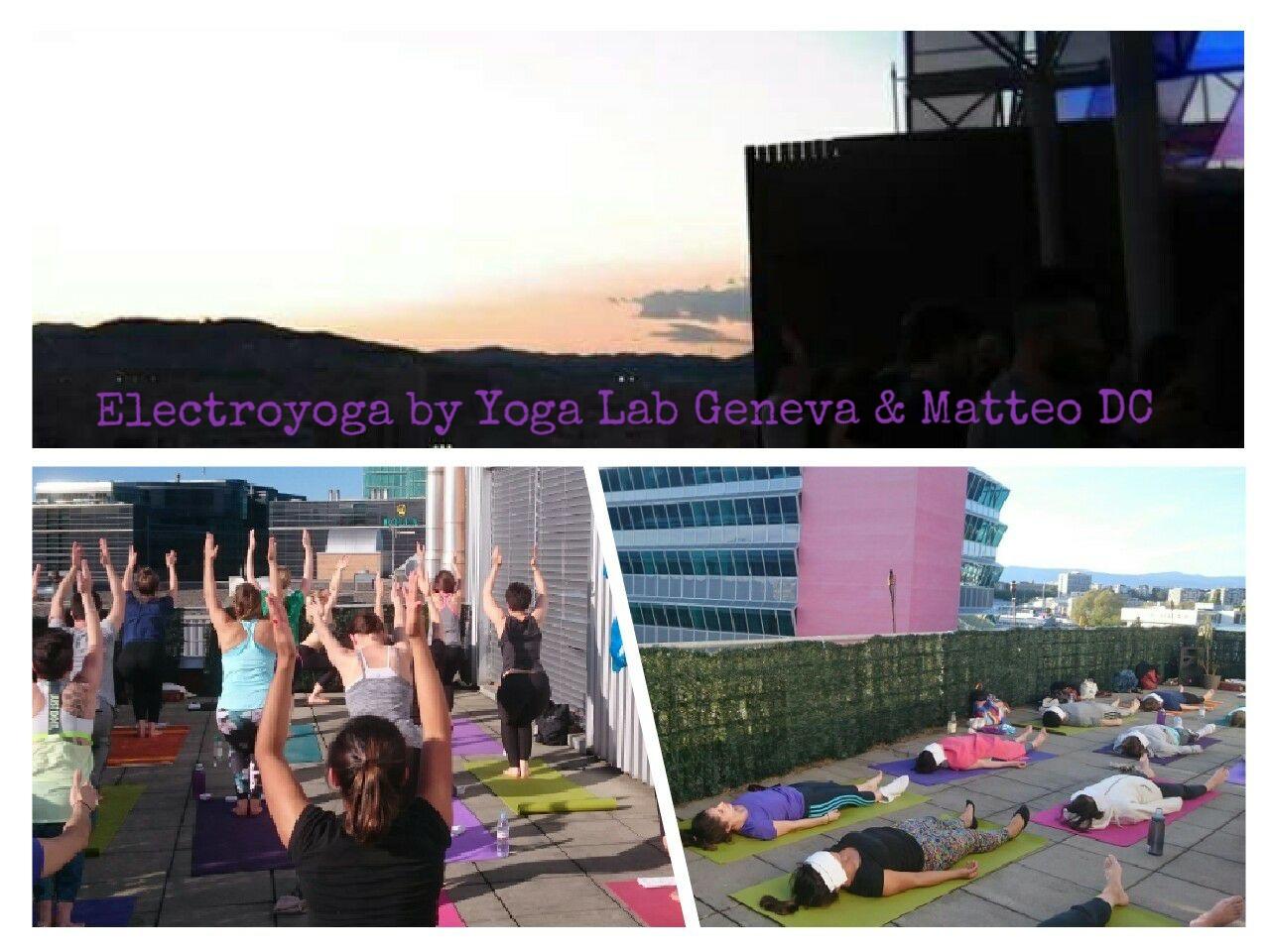 Electroyoga by yoga lab geneva - vinyasa yoga - power yoga