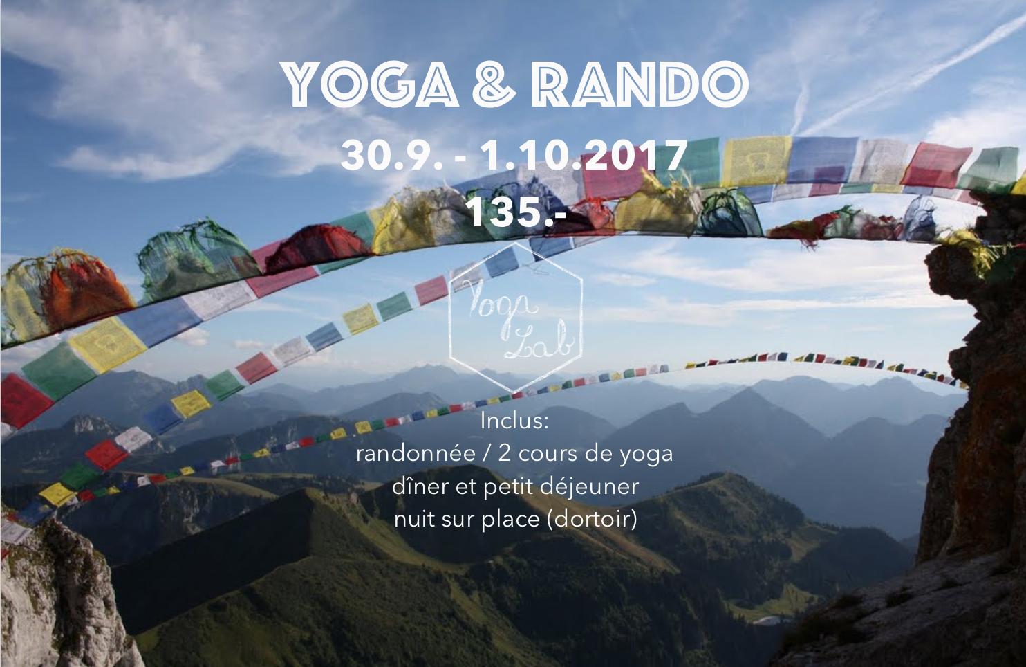 yoga Genève - vinyasa yoga - yoga et rando