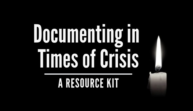 For Archivists - As an outcome of a two-year task force, the Society of American Archivists has published a set of templates and documents that will assist archivists in collecting materials on tragedies within their communities.