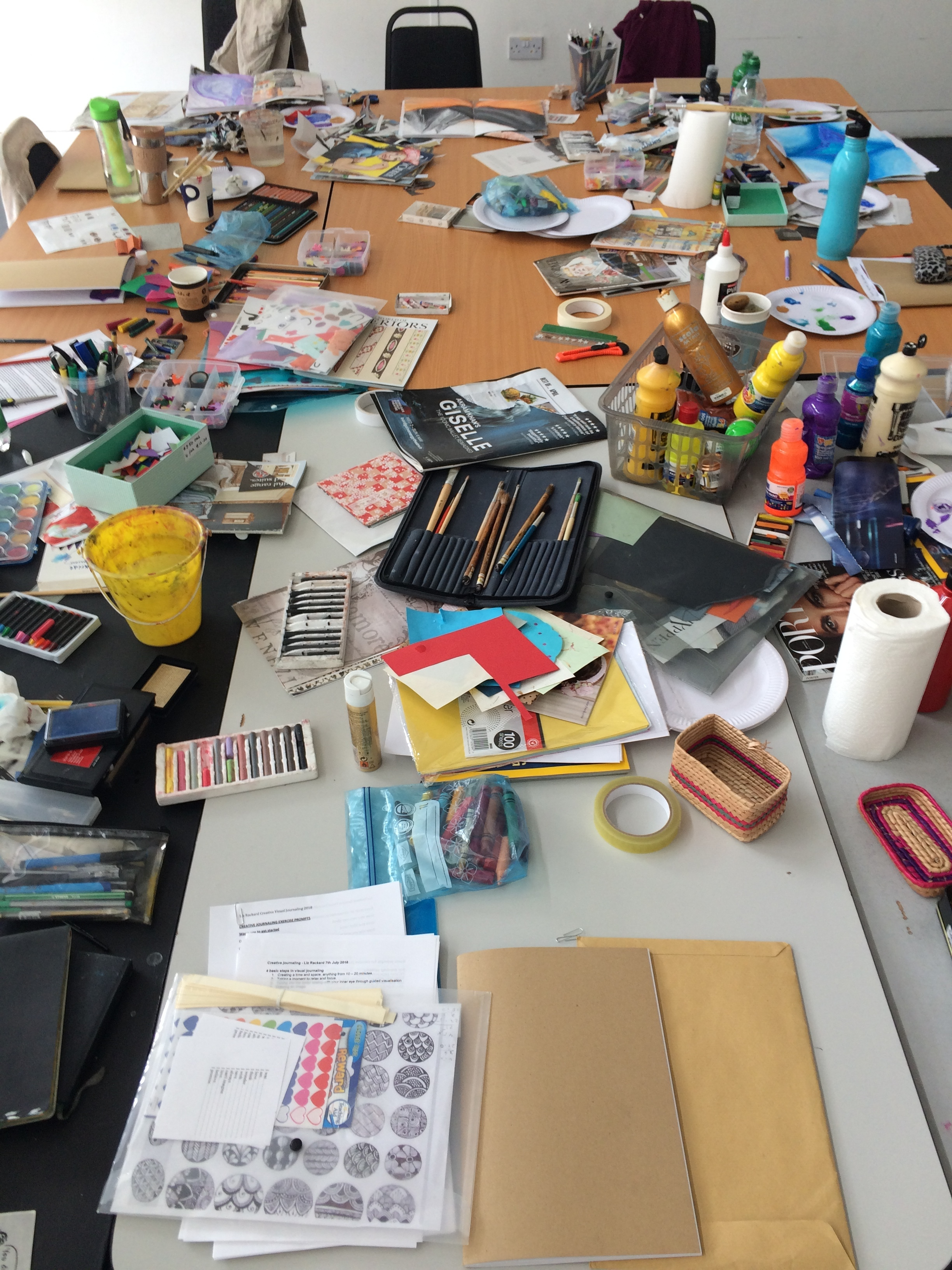 Visual Journaling Workshop in The Lab