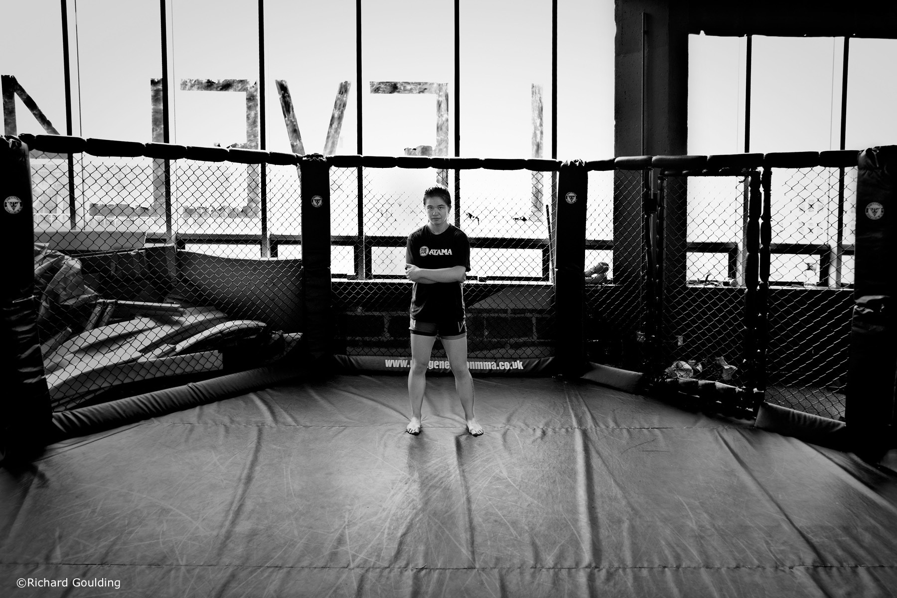 Rosi Sexton UFC MMA fighter; Liverpool 2013; ©Richard Goulding