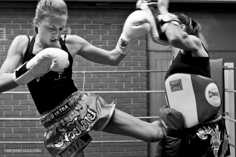 Dakoda Dictheva, Junior European Thai Boxing Champion.