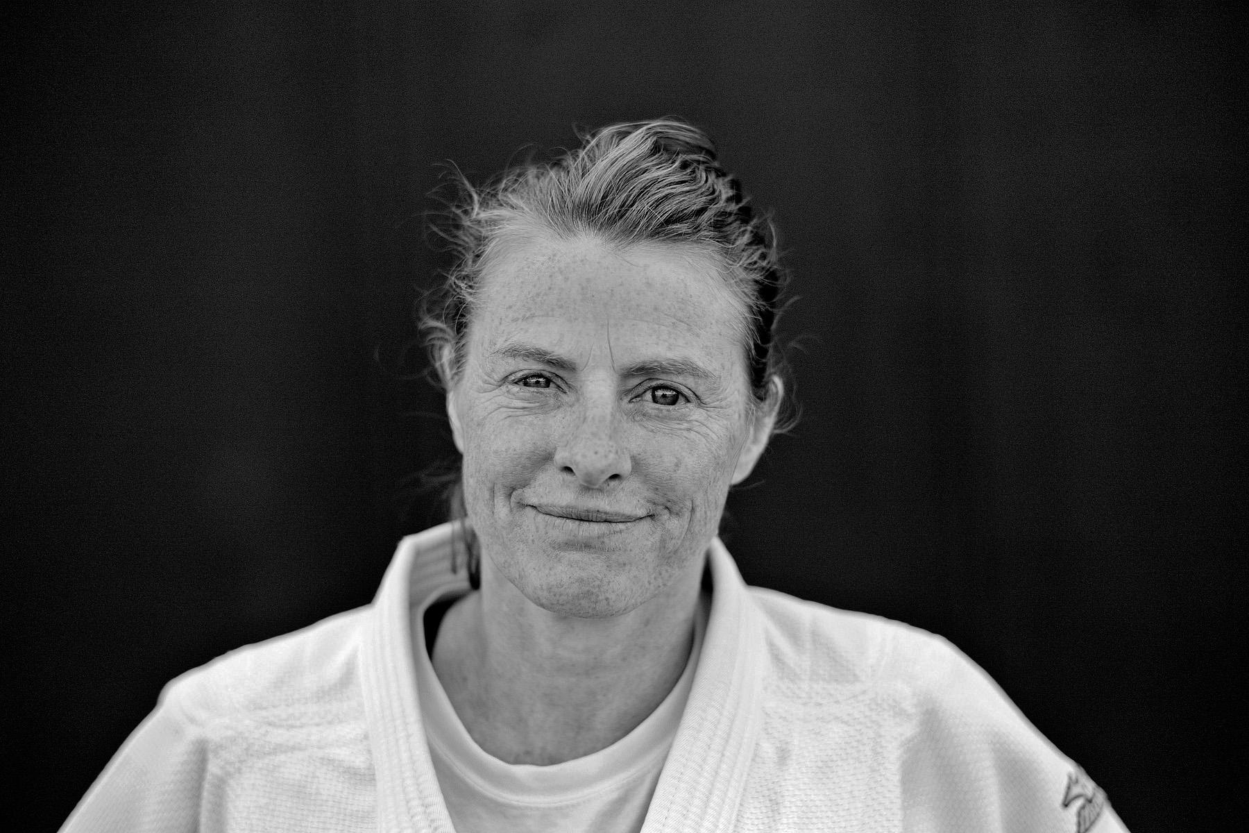 Jane Bridge, first women's Judo world champion.