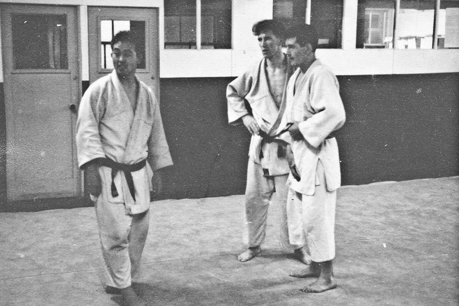 Akinori Hosaka and Roy Stafford at the Manchester Jazz Club Dojo, Manchester.
