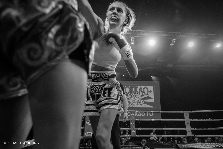 Lisa Howarth & Dakota Ditcheva Fight night