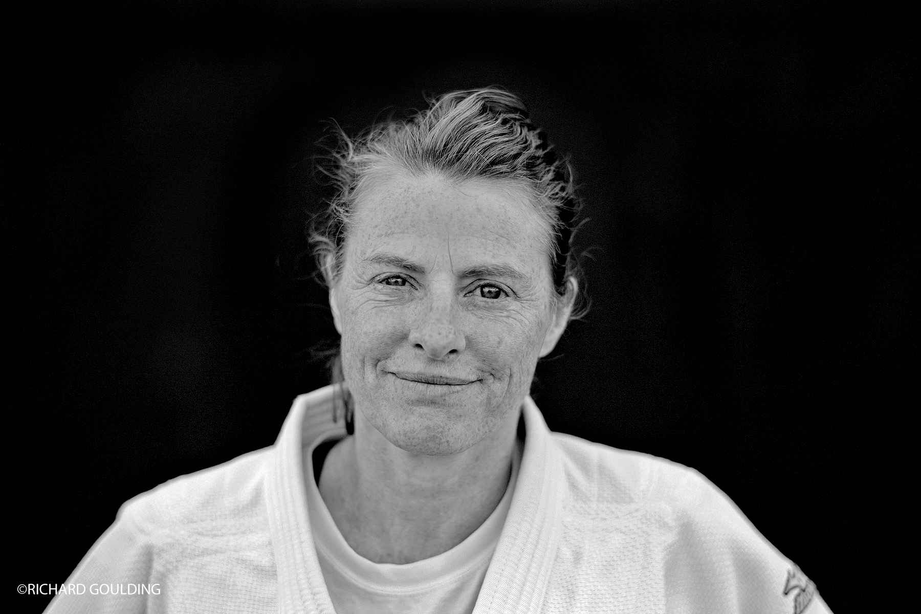 Jane Bridge is a British judoka who won three European Championship gold medals and was the first Women's World Champion at under 48 kg.