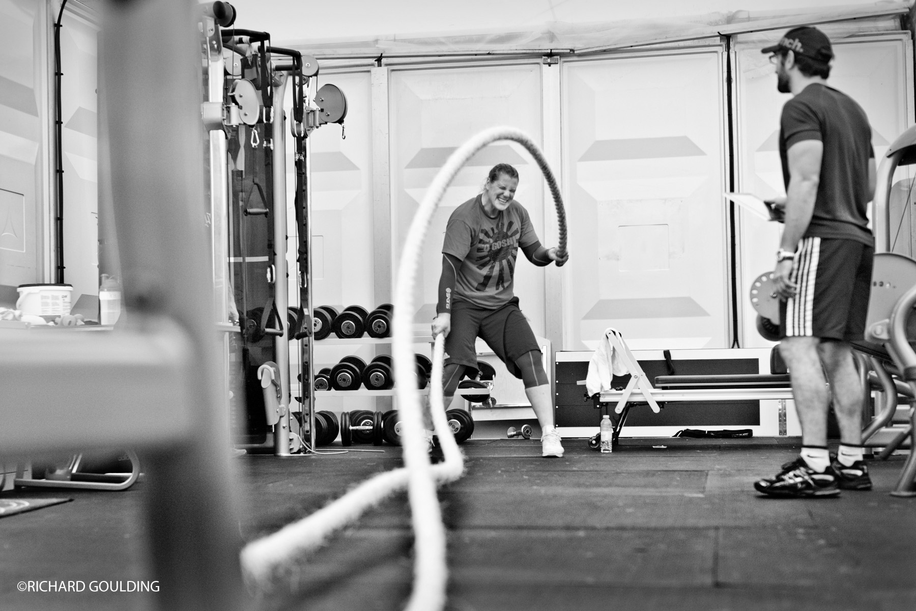 Karina Bryant, Olympic Judo bronze medalist London 2012, strength and conditioning training Dartford British Judo Association