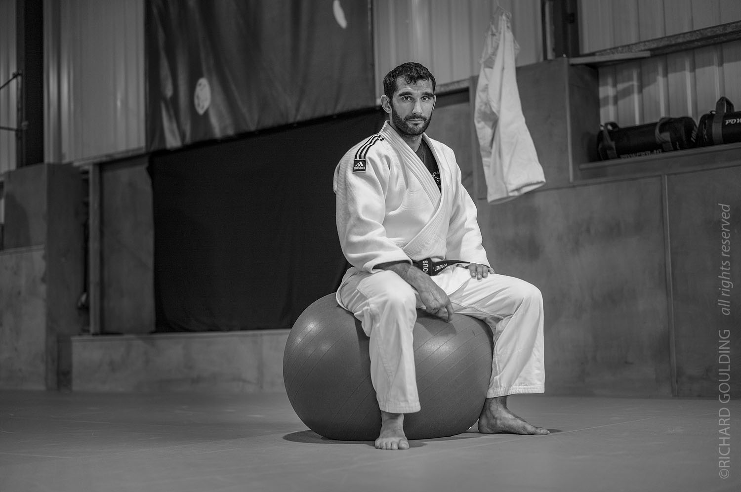 Aurelien Broussal photographed at Kendal Judo Club 2011, ©Richard Goulding, image not included in book.