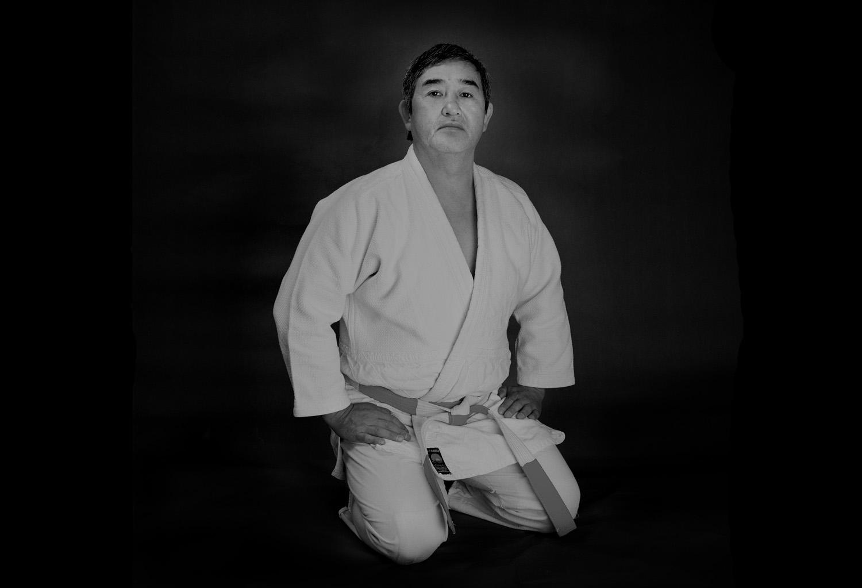 Akinori Hosaka, photographed Manchester 1989.