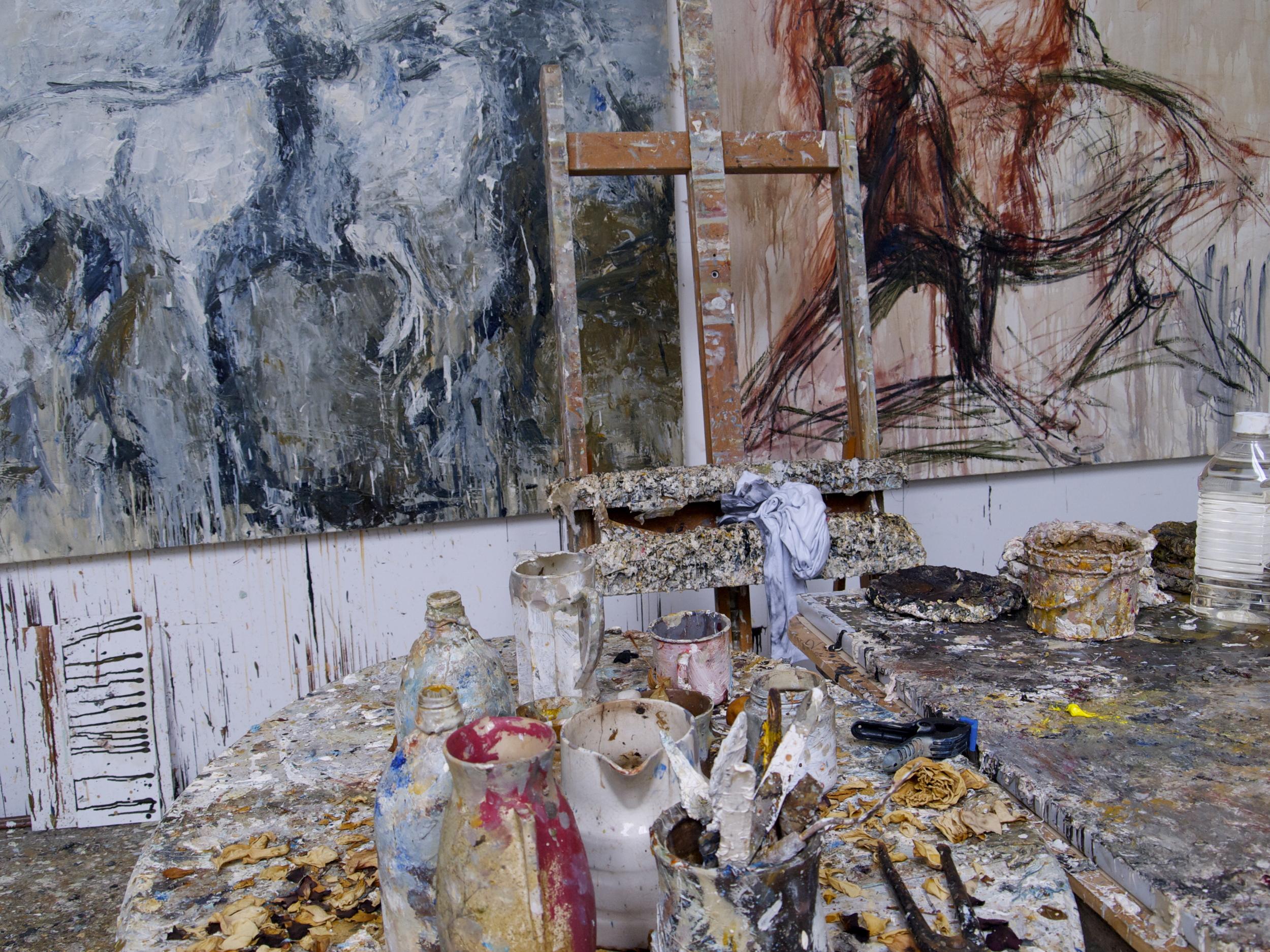 Judy Buxton's Art Studio