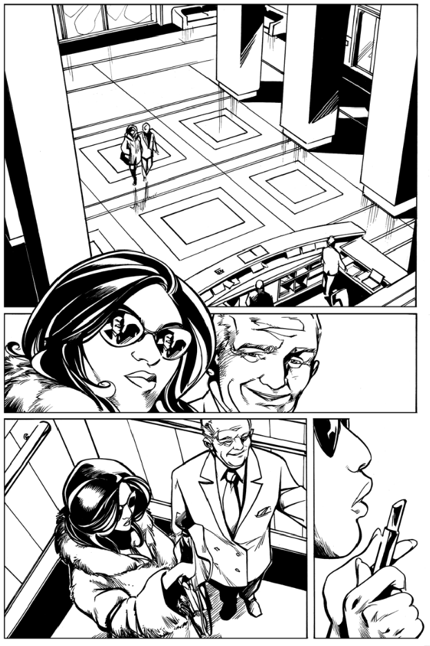 """How are comics made? Check out the process -  clickhere at iFanboy  for our comic with  Boom Studios , """"Protocol Orphans"""""""