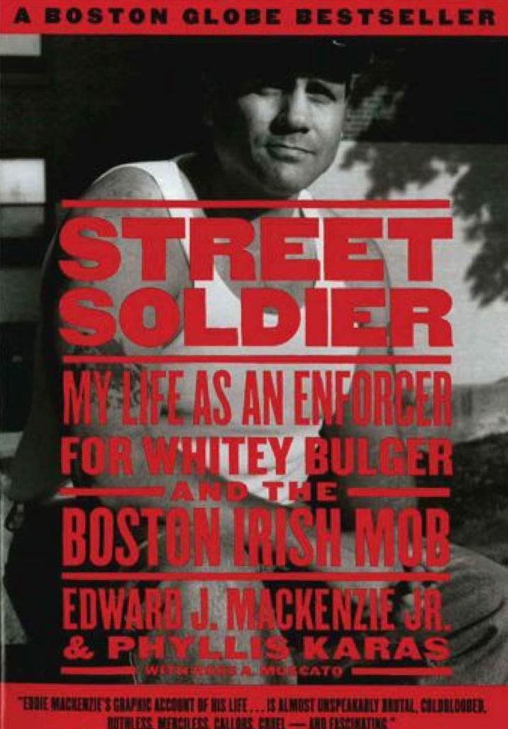 Street Soldier - currently in development, I acquired the book rights, a Boston Globe bestseller by Edward MacKenzie Jr about his life as an enforcer for Whitey Bulger and packaged the project.   Deadline story:   http://deadline.com/2013/10/fox-developing-event-series-about-whitey-bulgers-enforcer-with-peter-facinelli-co-starring-michael-de-luca-producing-623763/    Hollywood Reporter story:   http://www.hollywoodreporter.com/news/twilight-actor-peter-facinelli-produce-206340