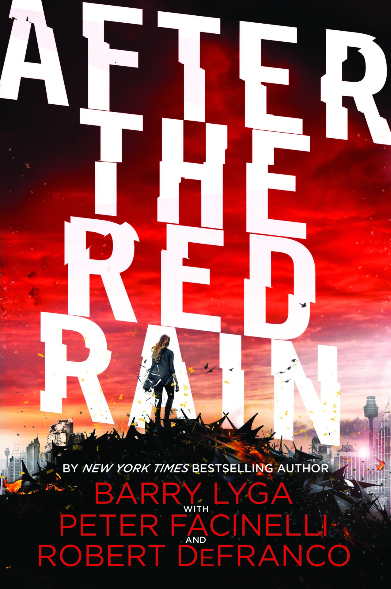 I co-authored the YA Novel After the Red Rain with Barry Lyga and Peter Facinelli being published by Little Brown August, 2015.   Read Entertainment Weekly's coverage:    http://www.ew.com/article/2013/10/23/twilight-peter-facinelli-after-the-red-rain-young-adult-author   Amazon (pre-order, Avail August 2015):    http://www.amazon.com/After-Red-Rain-Barry-Lyga/dp/0316406031