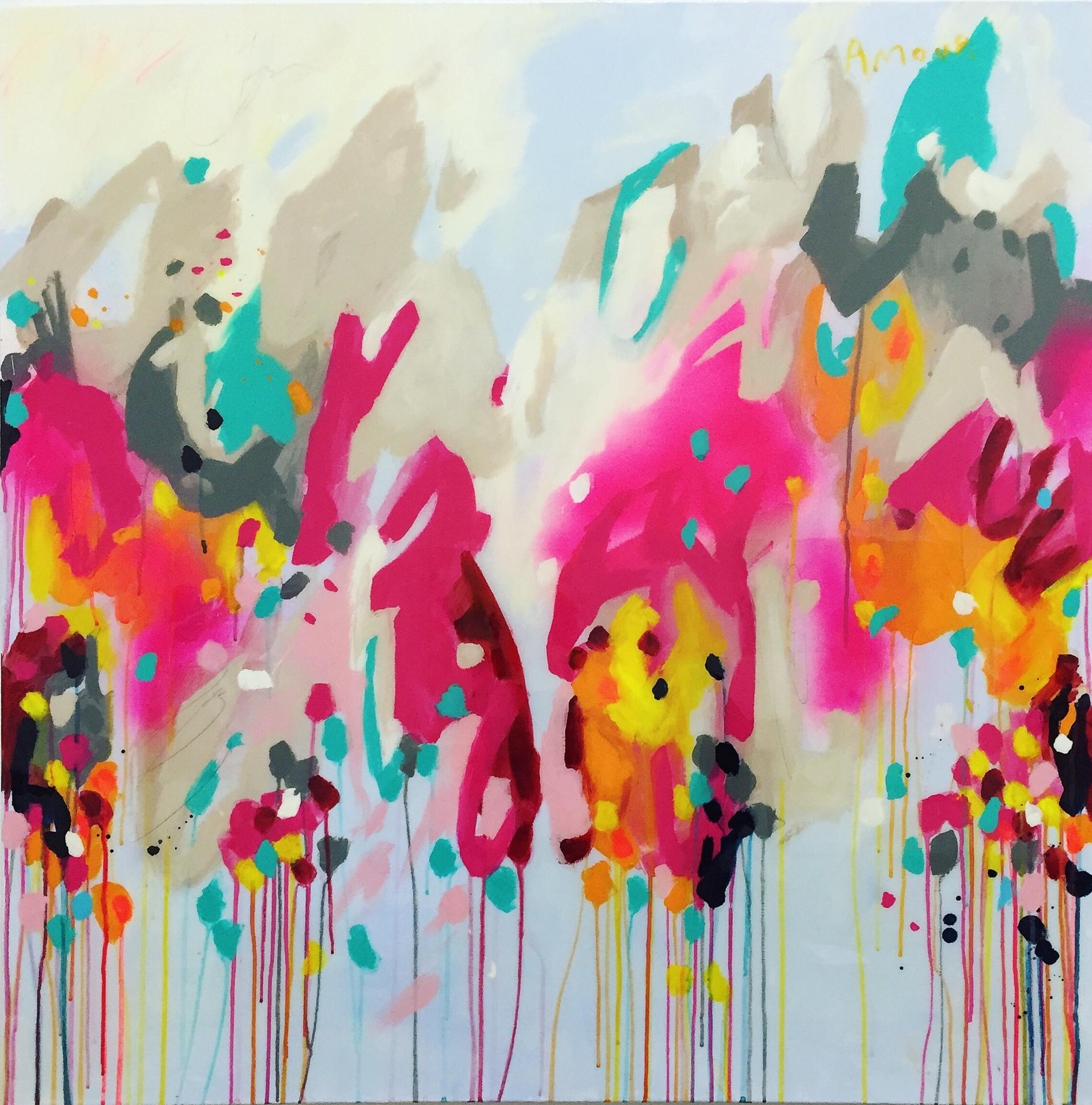 Amour, acrylic & epoxy finish