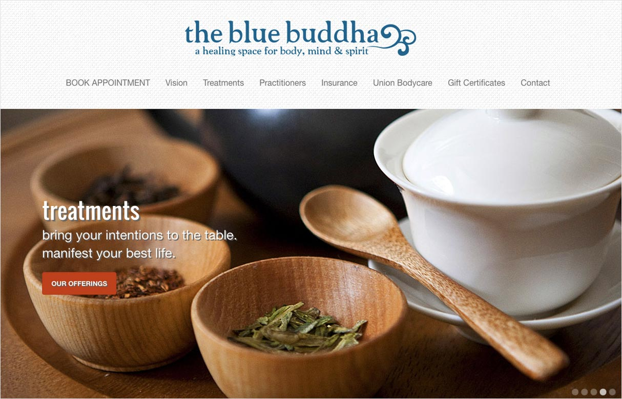 The Blue Buddha