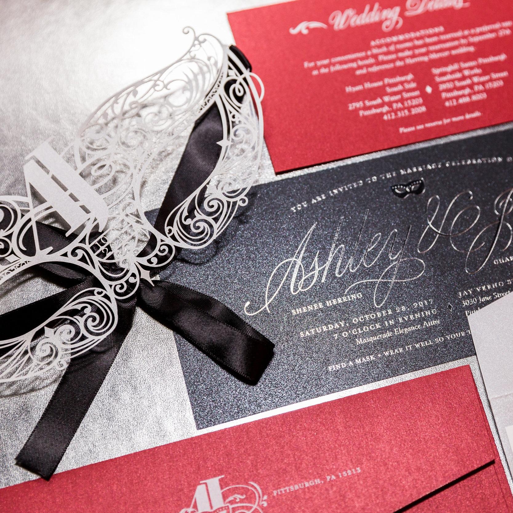 CUSTOM WEDDING + EVENT STATONERY -