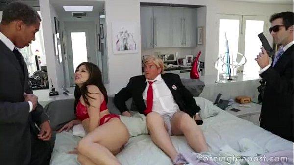 Scene from the Trump XXX parody