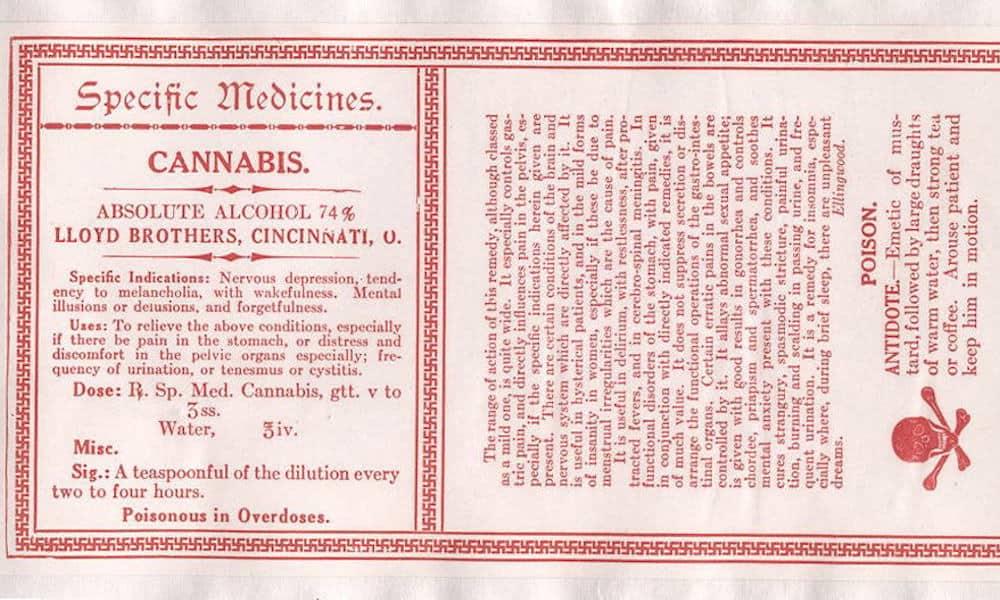 Antique Cannabis Book