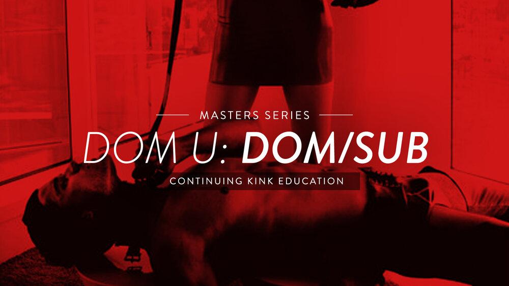 Sub dom Dom/sub