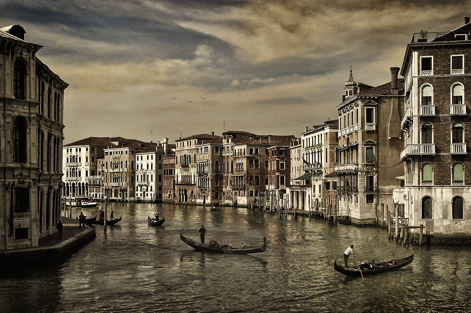 Favourite Shot 2 - The Grand Canal from the northern side of the Rialto Bridge