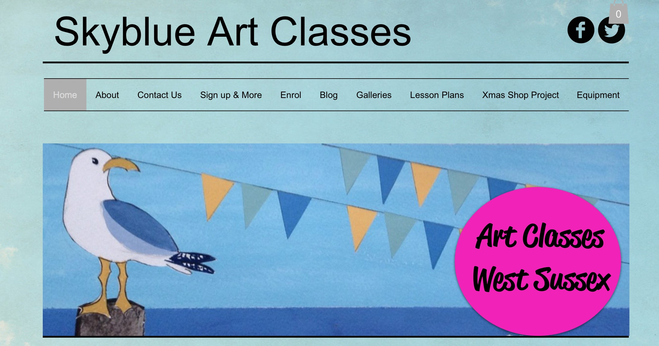 Janes Website - Skyblue Art Classes