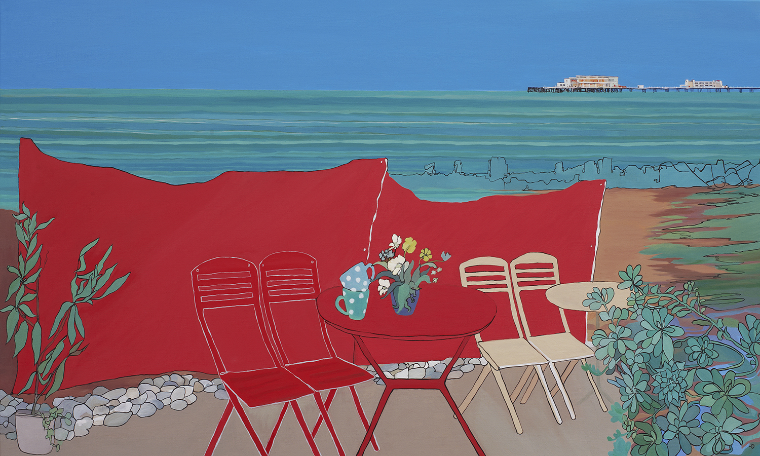 """Worthing Pier"" by Jane Denman"