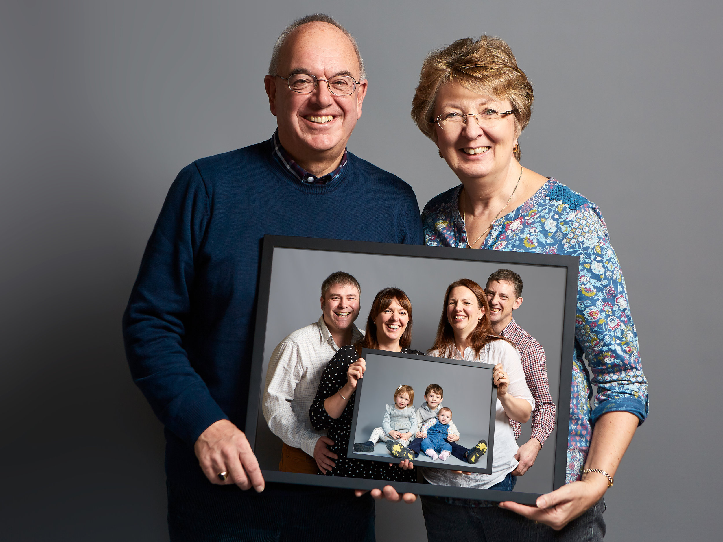 A family studio portrait   by Lincolnshire wedding photographer 166 photography