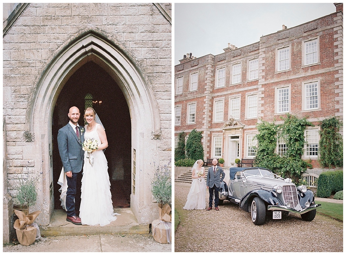 A Wedding at National Trust Venue Gunby Hall in Lincolnshire