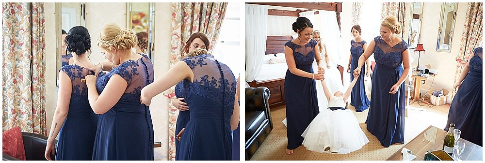 A beautiful wedding at Kenwick Park near Louth, Lincolnshire.