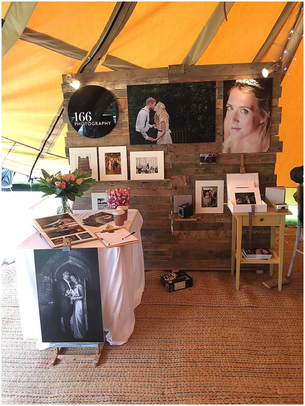 Amazing photographers at Lincoln Bailgate Wedding Fayre