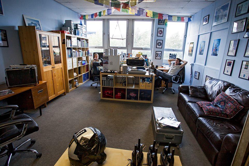 Hot Aches Studio, Edinburgh.