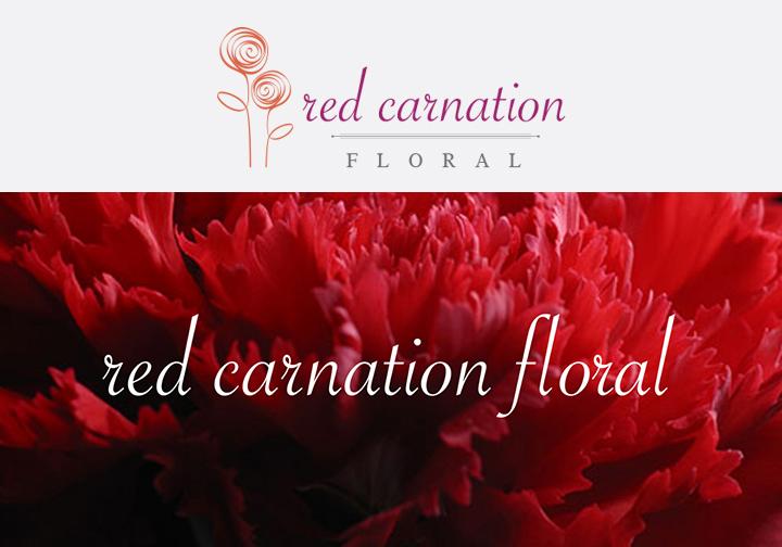 RED CARNATION FLORAL