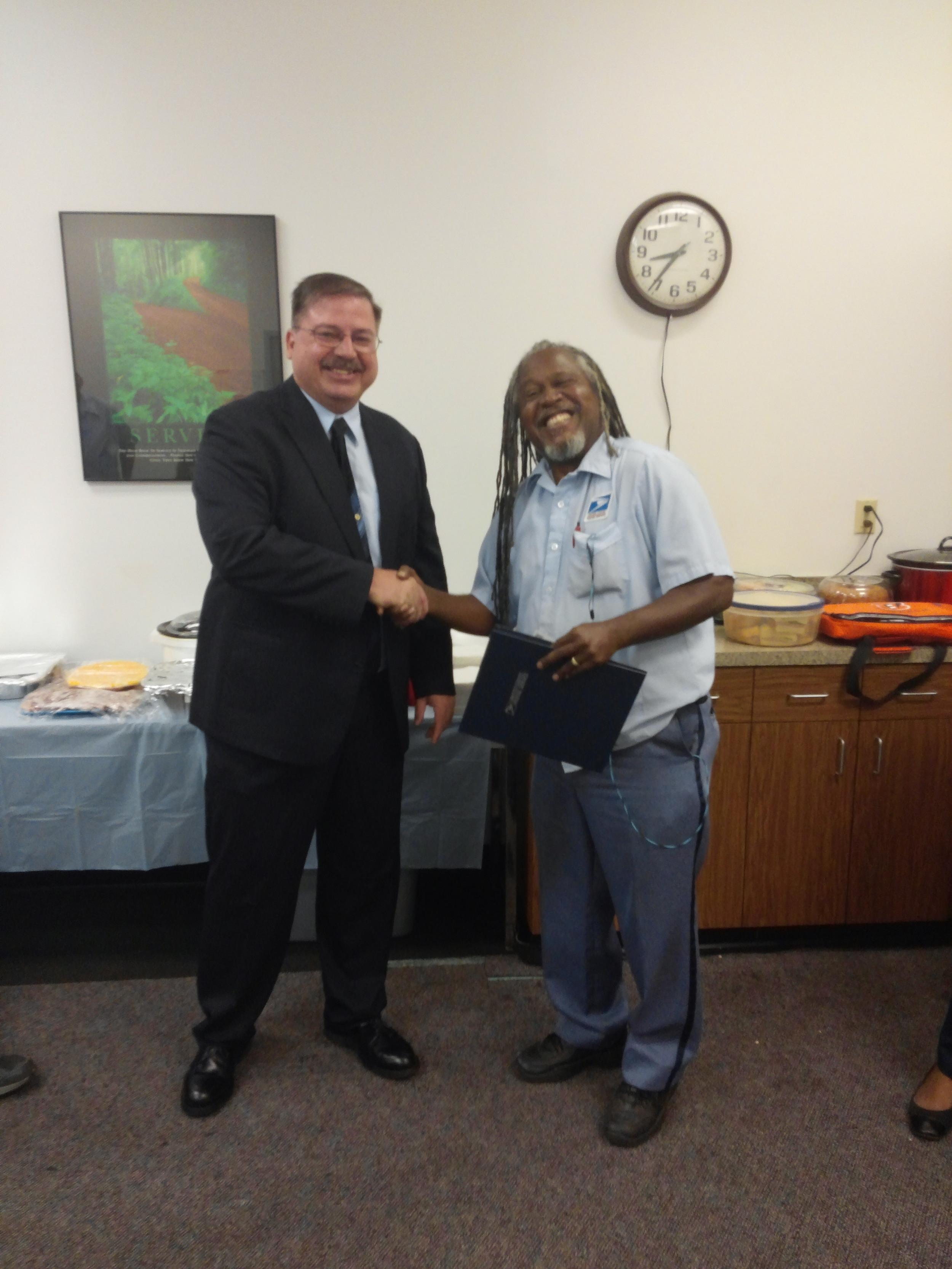 President Todd Hornyak & Chuck Stephenson