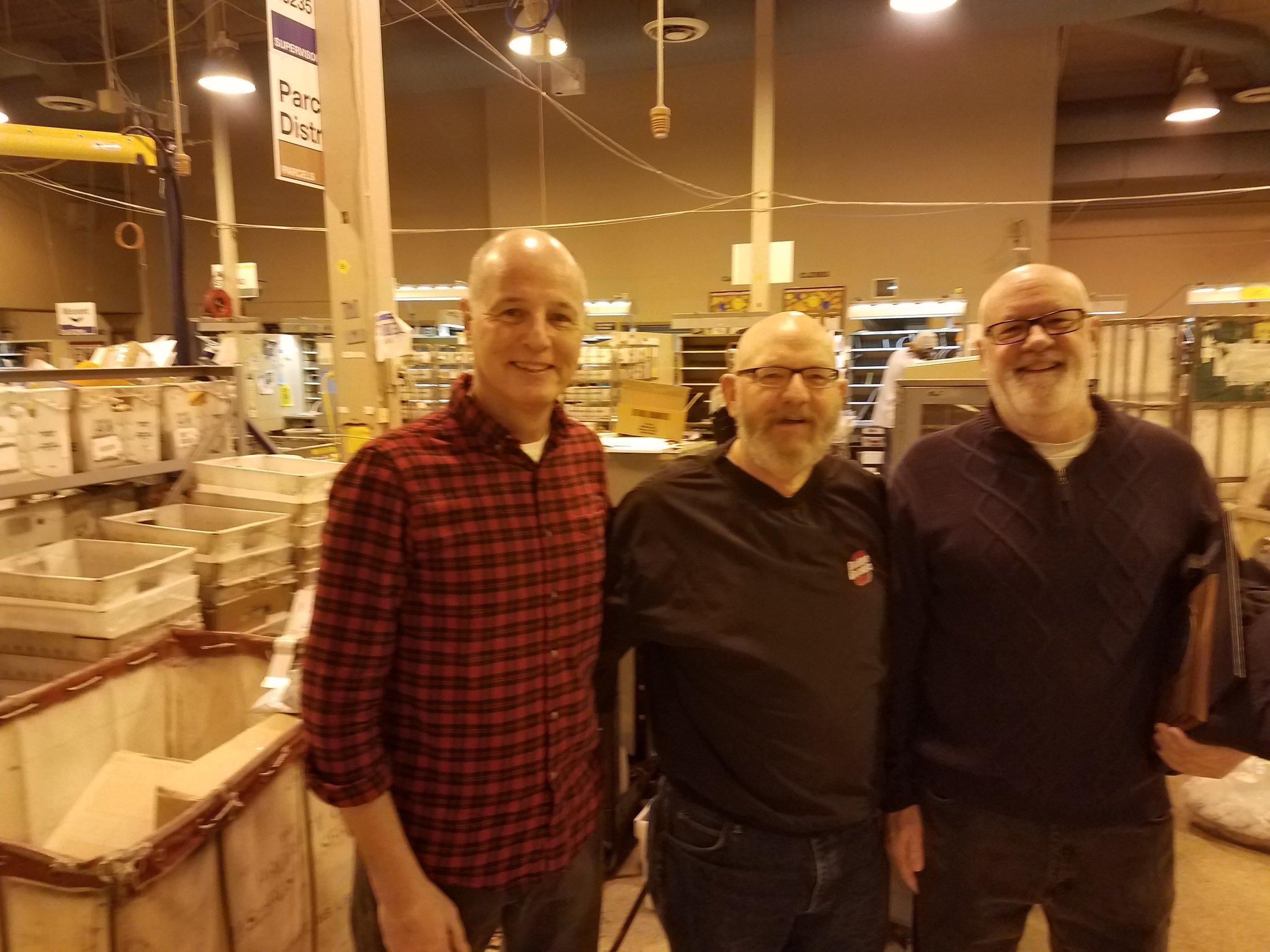 Mike Jasiewicz, Jim Kaiser & Keith Maloney retired from West Worthington