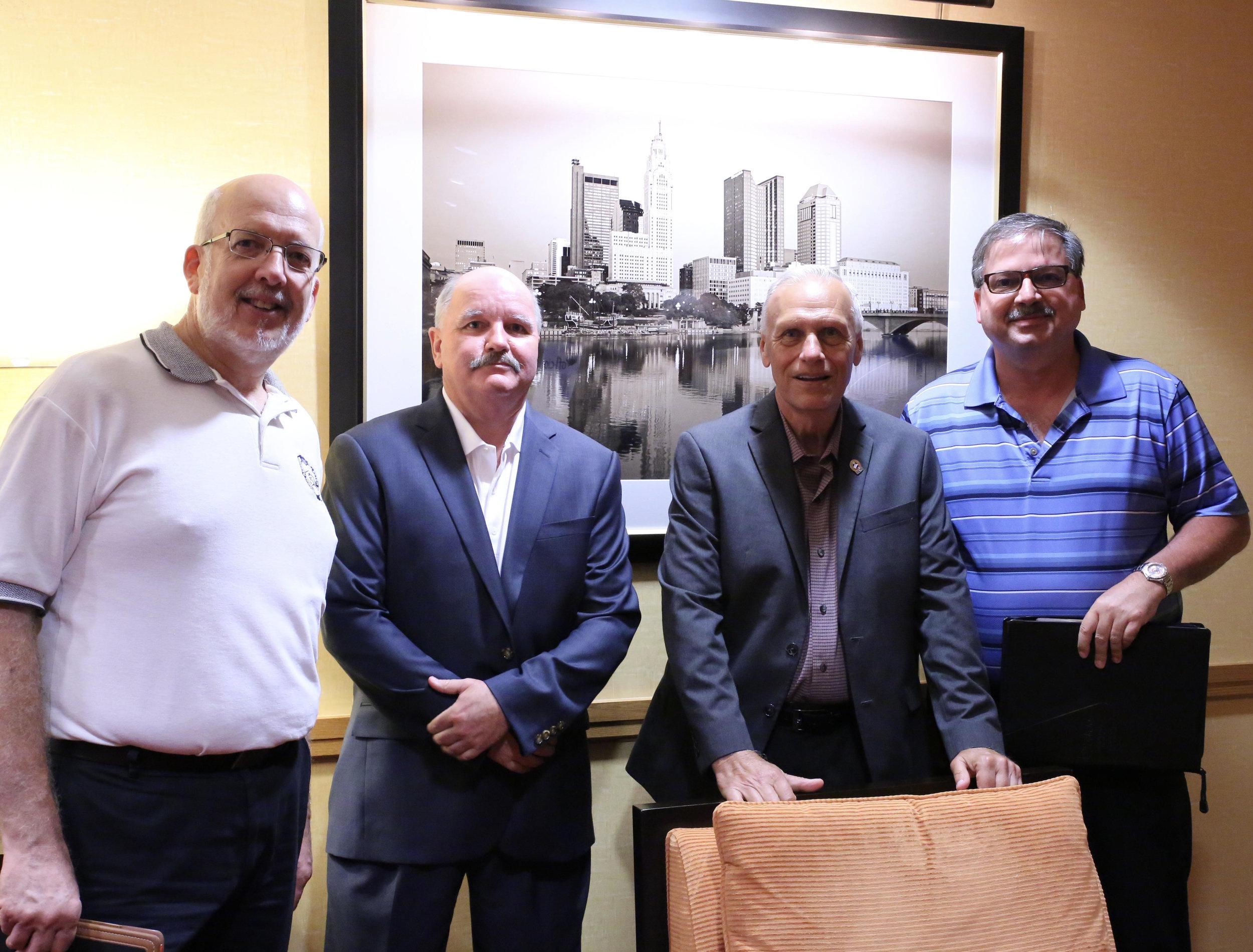 Dave Kennedy, Dave Herrod, John Dyce, Todd Hornyak