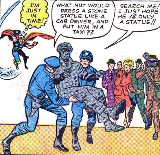 Those police officers are very strong.