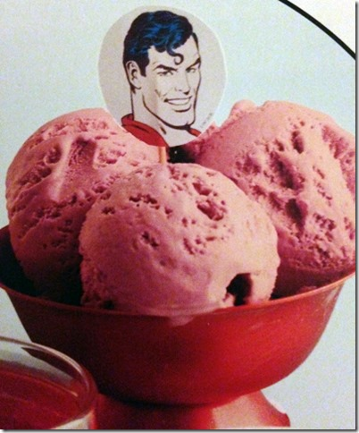 Why haven't I been sticking pictures of Superman in ALL of my food?!